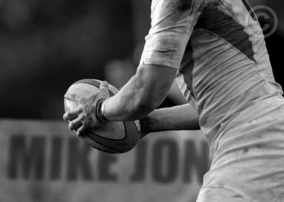 Rugby Catch (Black and White)