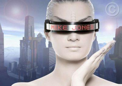 Women Wearing Eye Technology